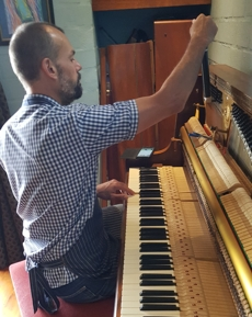 Paul Tizzard Piano Technician